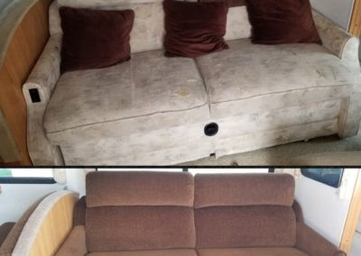 Old Upholstery vs. New Upholstery